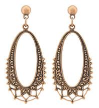 Copper Earrings - 073