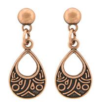 Copper Earrings - 168