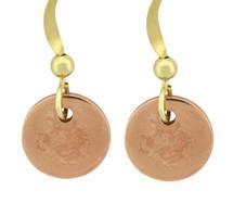 Copper Earrings - 184