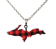 UP Buffalo Plaid Pendant