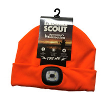 LED Night Scout Hat - Hunters Orange
