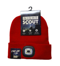LED Night Scout Hat - Red
