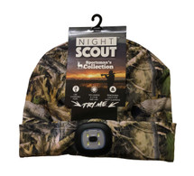 LED Night Scout Hat - Camo