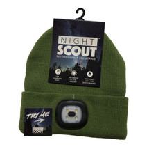 LED Night Scout Hat - Green