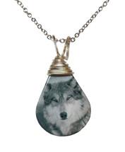 Timberwolf Pendant