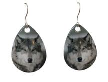 Timberwolf Earrings
