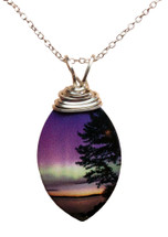 Oval Morning Light Necklace