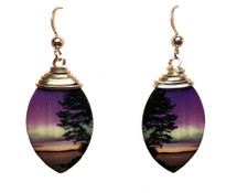 Oval Morning Light Earrings