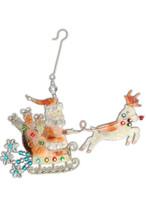 Santas Sleigh Ride Ornament