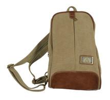 "15.7"" Khaki Canvas Sling/Backpack 3994"