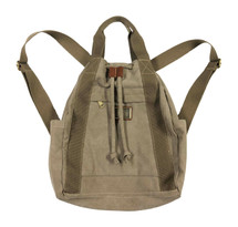 "14.2"" Khaki Canvas Sling/Backpack 3997"
