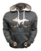 UP Crossed Sticks Hockey Hoodie (C)
