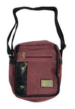 """12"""" Burgundy Canvas Bag 3967"""