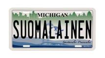 Suomalainen License Plate