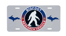 Bigfoot Research Vehicle License Plate