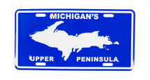 Michigans Upper Peninsula License Plate