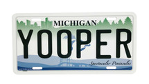 Yooper Traditional License Plate