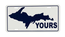 UP Yours License Plate