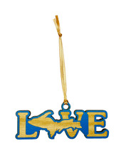 Love UP Wooden Ornament