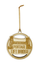 Portage Lift Bridge Wooden Ornament