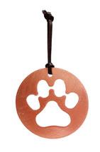 Paw Copper Ornament