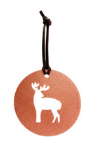Deer Copper Ornament