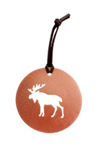 Moose Copper Ornament