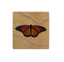 Butterfly Sandstone Coaster