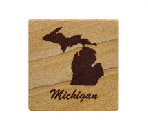 Michigan Sandstone Coaster