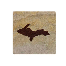 UP Map Sandstone Coaster