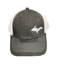 Black and White UP Map Ball Cap