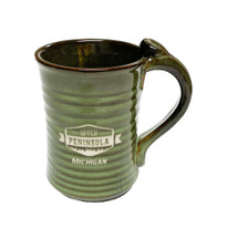 Upper Peninsula Michigan Mug - Green