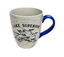 Lake Superior Facts Mug