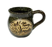 Lake Superior Pot Belly Mug