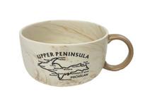 Upper Peninsula Facts Soup Mug