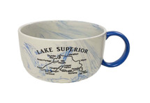 Lake Superior Facts Soup Mug