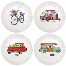 Summer Camping Plate Set