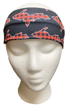 Black and Buffalo Plaid U.P. Headband