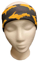 Black and Yellow U.P. Headband