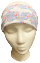 Floral and White U.P. Headband