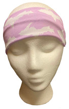 Lavender and White U.P. Headband