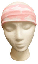Pink and White U.P. Headband