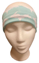 Teal and White U.P. Headband