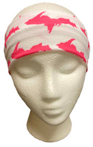 White and Pink U.P. Headband