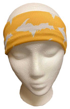 Yellow and White U.P. Headband