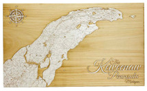 The Keweenaw Peninsula - Papier Blanc - Medium