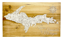 Upper Peninsula - Papier Blanc - Large