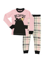 Bear Hug PJ Set Pink