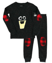 Black Bear Kids PJ Set