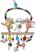 Cabaret Cats Ornament
